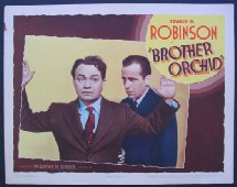 Brother orchid, avec Edward G. Robinson