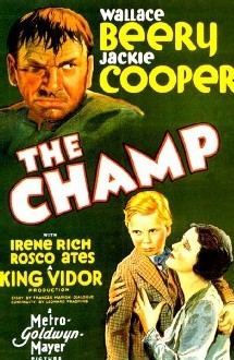 The champ, avec Wallace Beery