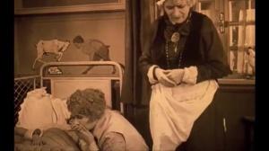 Egy fiúnak a fele (1924) de Géza von Bolváry : les portes de la mort et de la vie