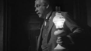 The house of fear (La maison de la peur, 1945) de Roy William Neill : le docteur Watson panique