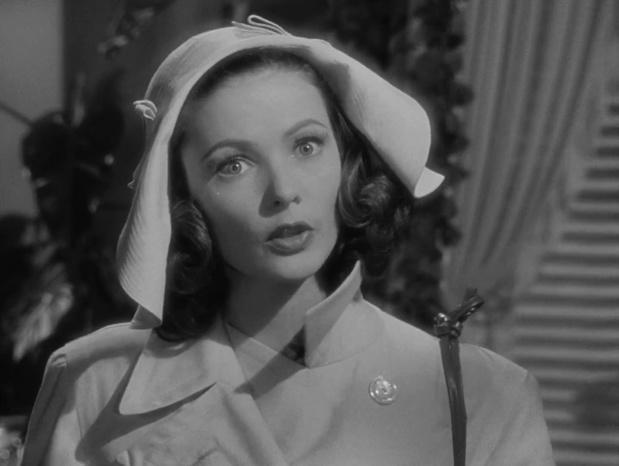 Gene Tierney est Laura dans le film policier Laura (1944) d'Otto Preminger