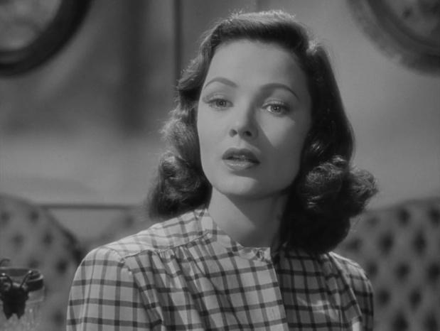 Gene Tierney dans Laura (1944) d'Otto Preminger