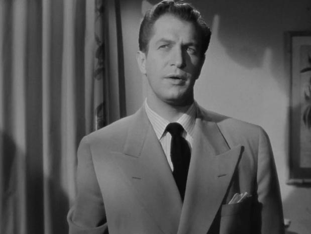 Vincent Price dans Laura (1944) d'Otto Preminger