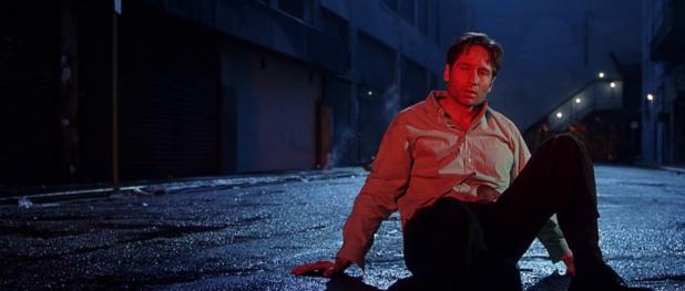David Duchovny dans X-Files : Combattre le futur