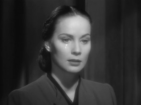 Alida Valli dans The Paradine case (Le procès Paradine, 1947) d'Alfred Hitchcock