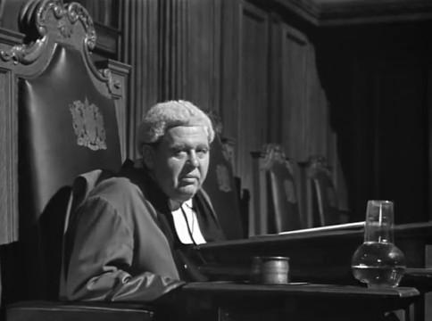 Charles Laughton dans The Paradine case (Le procès Paradine, 1947) d'Alfred Hitchcock