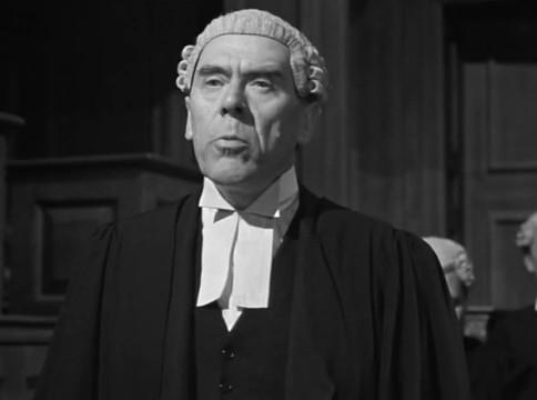 Leo G. Carroll dans The Paradine case (Le procès Paradine, 1947) d'Alfred Hitchcock