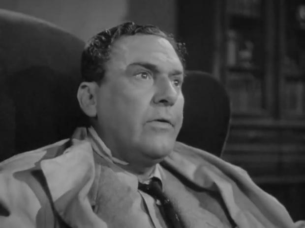 Arthur Margetson dans Sherlock Holmes faces death (Echec à la mort, 1943)