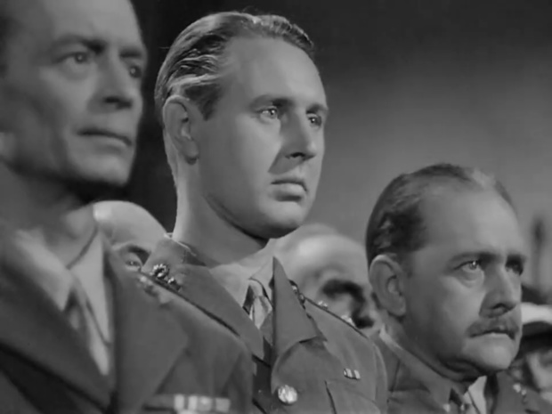 Gerald Hamer dans Sherlock Holmes faces death (Echec à la mort, 1943)
