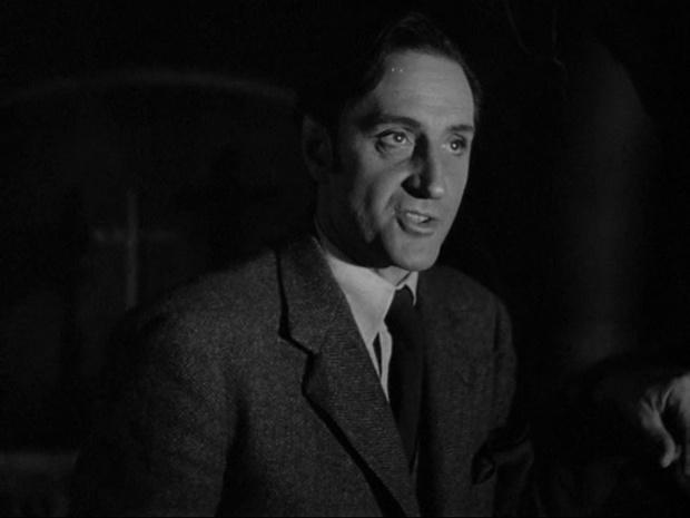Basil Rathbone dans Sherlock Holmes faces death (Echec à la mort, 1943)