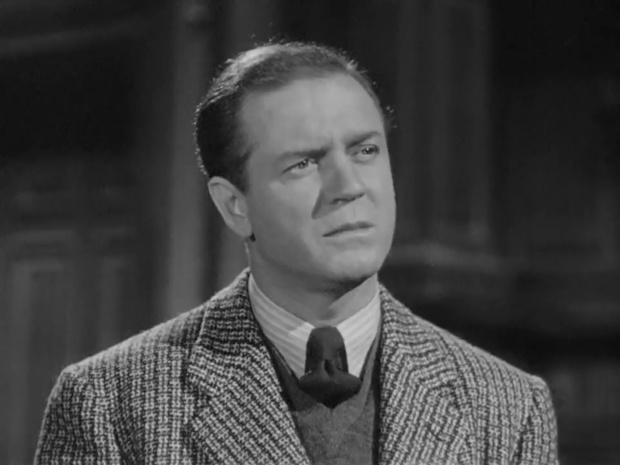 Gavin Muir dans Sherlock Holmes faces death (Echec à la mort, 1943)