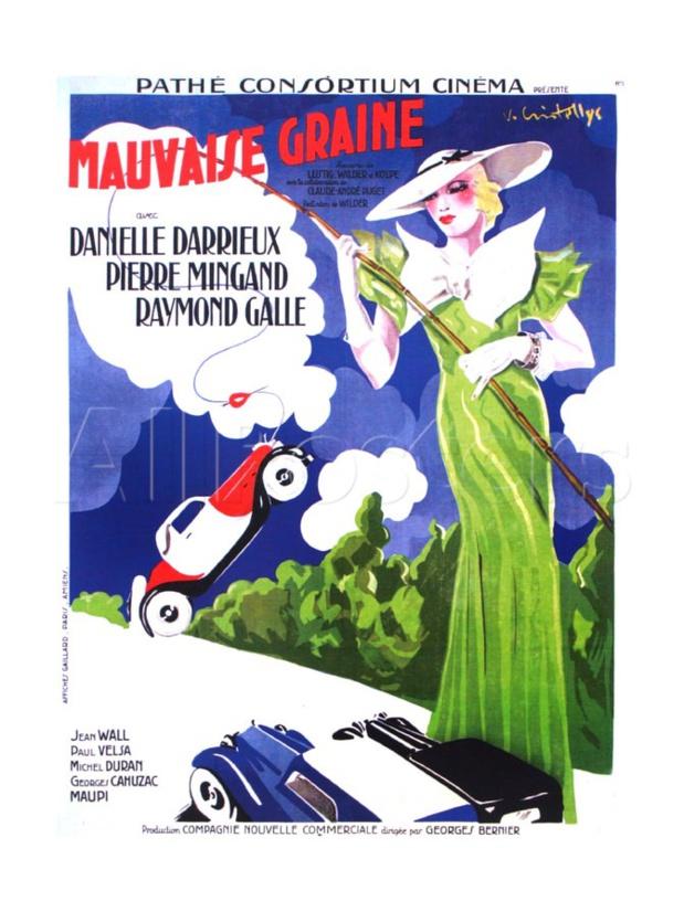 Mauvaise graine (1934) de Billy Wilder et Alexandre Esway : la voiture volée