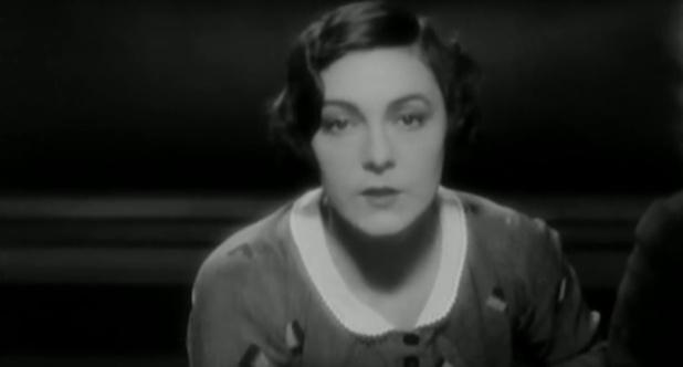 Gaby Morlay dans le film Accusée, levez-vous (1930) de Maurice Tourneur