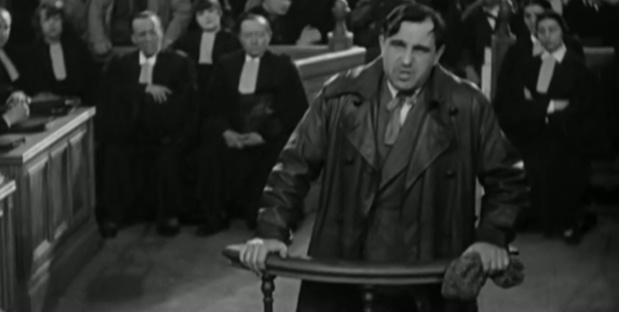Charles Vanel dans Accusée, levez-vous (1930) de Maurice Tourneur