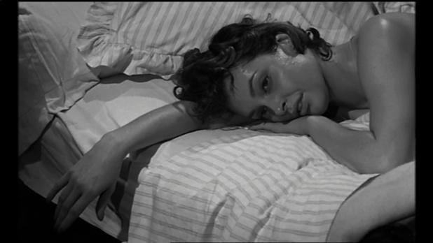 Nadja Tiller dans le film Le désordre et la nuit
