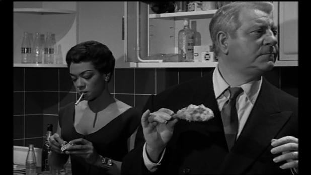 Jean Gabin et Hazel Scott dans Le désordre et la nuit