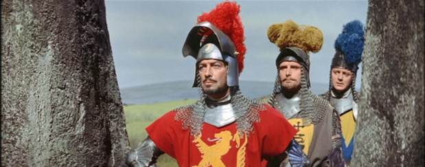 Knights of the Round Table (Les Chevaliers de La Table Ronde, 1953) de Richard Thorpe : la bataille; et Lancelot affronte Modred (HD)