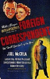 affiche de Correspondant 17, d'Hitchcock