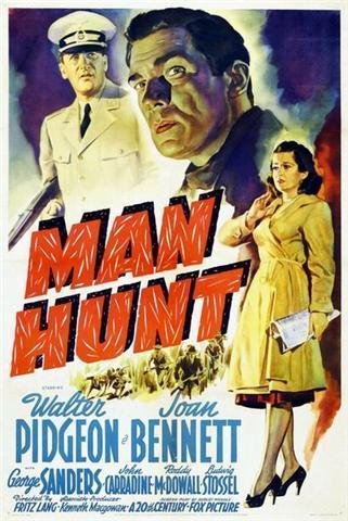 Roddy Mac Dowall et Walter Pidgeon dans Man hunt