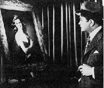 L'acteur Edward G. Robinson dans La femme au portrait
