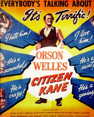 Une affiche de Citizen Kane