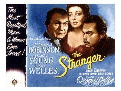 Une affiche du film The stranger (Le criminel)