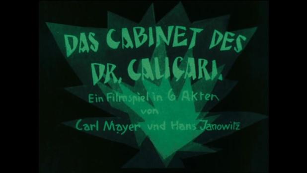 Werner Krauss est le docteur Caligari et Conrad Veidt sa créature
