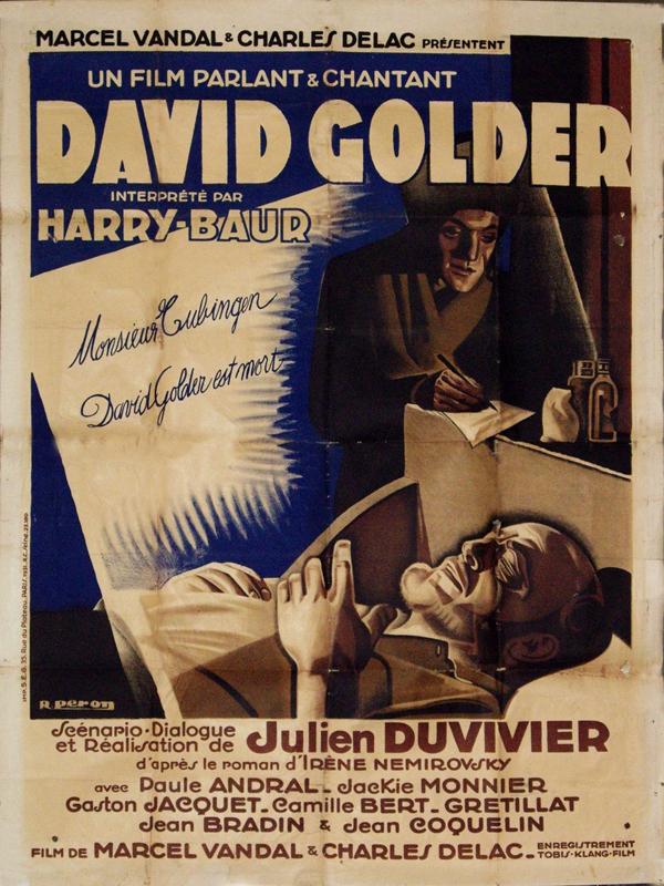 Affiche du film David Golder