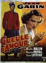 Affiche du film Gueule d'amour