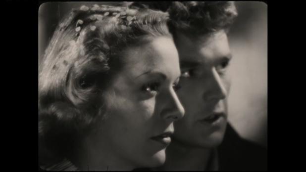 Madeleine Robinson et Georges Marchal dans Lumière d'été (photogramme Hédy Sellami)