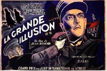 Une affiche de La grande illusion
