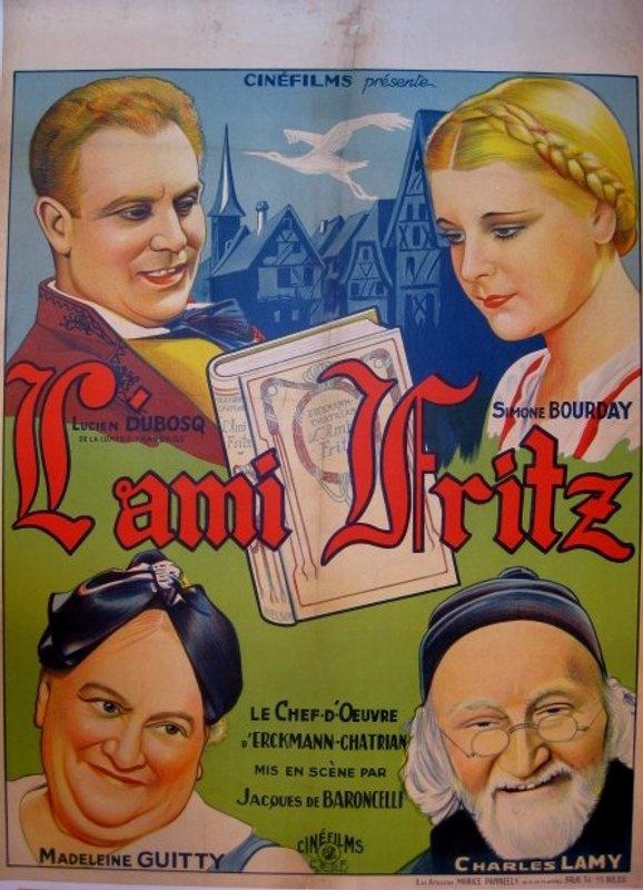 Affiche du film L'ami Fritz