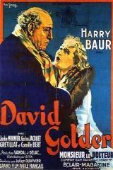 Une affiche du beau film de Julien Duvivier, David Golder, avec Harry Baur dans le rôle titre