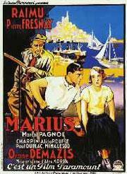 Marius, d'après Marcel Pagnol, avec notamment Orane Demazis (1894/1991)