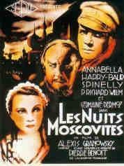 Les nuits moscovites, dont il existe une version française et une version anglaise