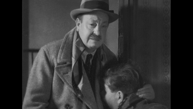Harry Baur dans La tête d'un homme, de Julien Duvivier