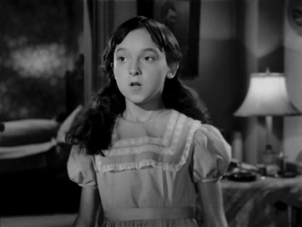 Yvonne Laflamme dans le rôle d'Aurore l'enfant martyre