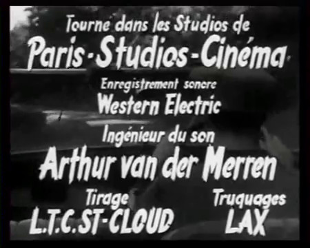 5 tulipes rouges (1949) de Jean Stelli : la fin