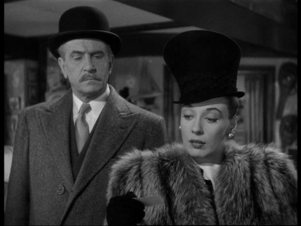 Dressed to kill : à droite, Patricia Morison
