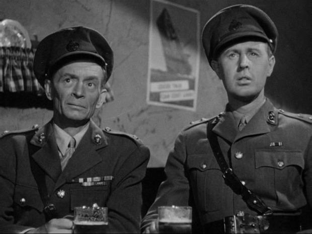 Sherlock Holmes faces death : à gauche, Gerald Hamer