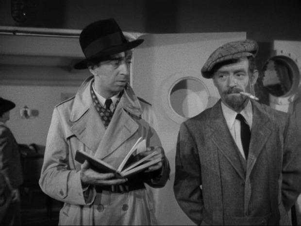 Mission à Alger : à droite, Gerald Hamer