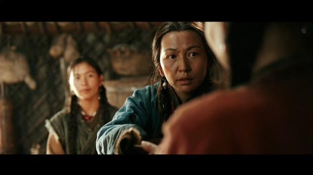 Mongol : Aliya, de face, au milieu