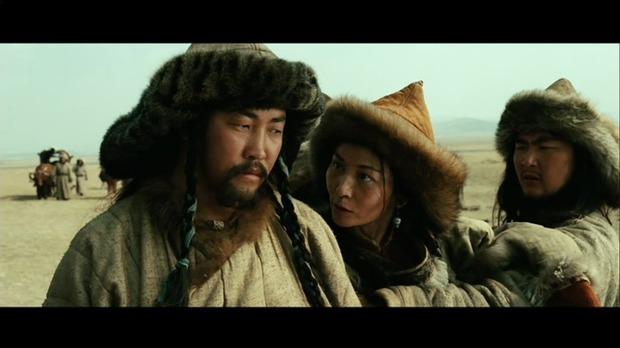 Mongol : Targutaï à gauche, et, à droite, la mère de Gengis Khan