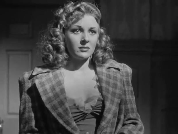 Evelyn Ankers dans le film Sherlock Holmes et la voix de la terreur