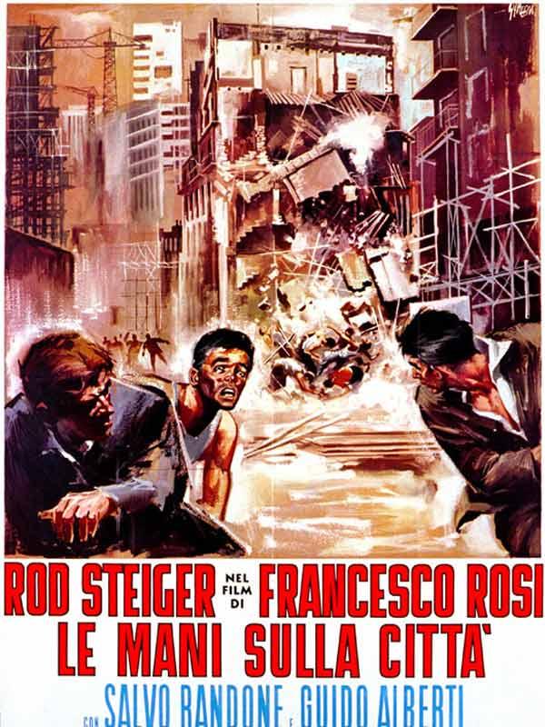 Le mani sulla citta' (Main basse sur la ville, 1963) de Francesco Rosi : les habitants expulsés