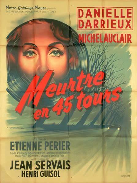 Affiche du film Meurtre en 45 tours