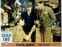 Dead end, de William Wyler, où Bogart est le gangster qui revient dans le quartier de son enfance ... pour y mourir