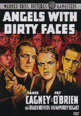 Les anges aux figures sales : l'affiche montre bien le statut de Bogart à cette époque : second rôle, juste derrière Cagney en l'espèce (à droite de l'affiche, posant sa main sur l'épaule de Cagney)