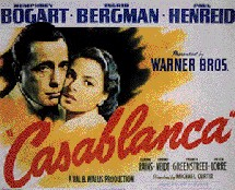 Casablanca, avec Ingrid Bergman