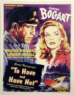 To have and have not (Le port de l'angoisse), sur le tournage duquel Bogart a fait la connaissance de Lauren Bacall